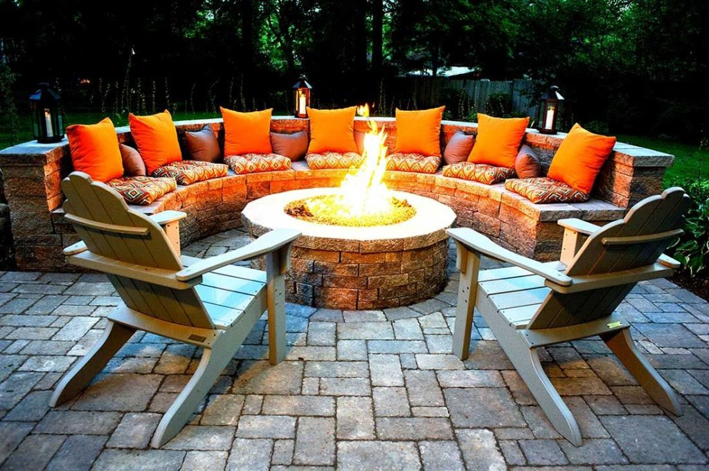 Outdoor Fire Pits-Arlington TX Professional Landscapers & Outdoor Living Designs-We offer Landscape Design, Outdoor Patios & Pergolas, Outdoor Living Spaces, Stonescapes, Residential & Commercial Landscaping, Irrigation Installation & Repairs, Drainage Systems, Landscape Lighting, Outdoor Living Spaces, Tree Service, Lawn Service, and more.